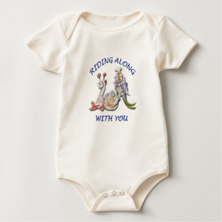 RIDING ALONG WITH YOU BABY BODYSUIT