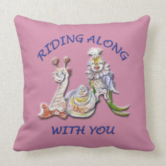 RIDING ALONG WITH YOU CUSHION