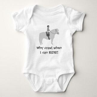 Riding Baby Baby Bodysuit