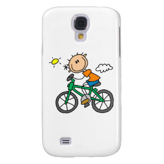 Riding Bicycle - Male Galaxy S4 Case
