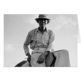 Riding Boss - 1937 Greeting Card