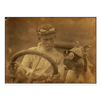Riding Buddy Postcard