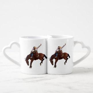 Riding Cowboy Lovers Mug