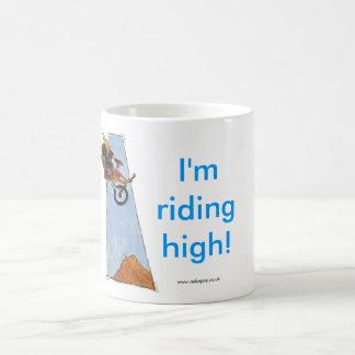 Riding High! Basic White Mug