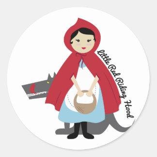 Riding Hood Sticker