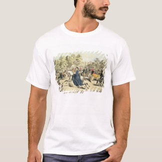 Riding in Rotten Row, Hyde Park T-Shirt