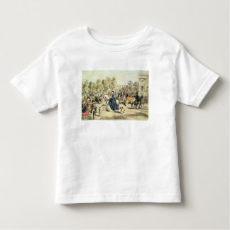 Riding in Rotten Row, Hyde Park Toddler T-Shirt