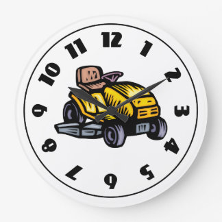 Riding Lawn Mower Clock