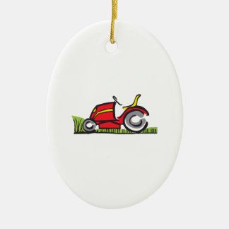 RIDING LAWNMOWER CHRISTMAS ORNAMENT