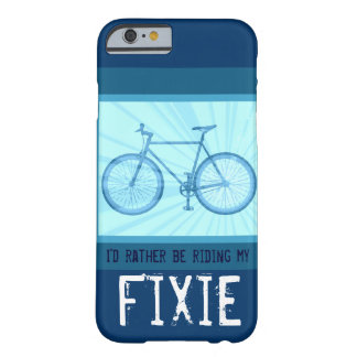 Riding My Fixie Bike Vintage Bicycle iPhone 6 case