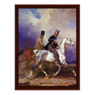 Riding Of Prince Wilhelm Of Prussia Postcard