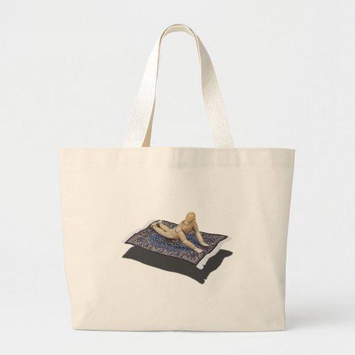 RidingFlyingCarpet091612 copy.png Tote Bags