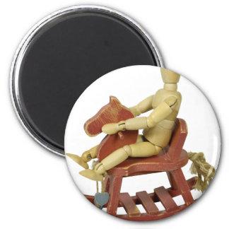 RidingRockingChair031910 Fridge Magnets