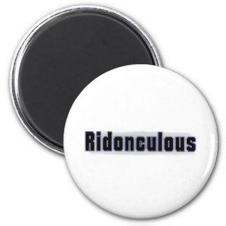 Ridonculous 6 Cm Round Magnet