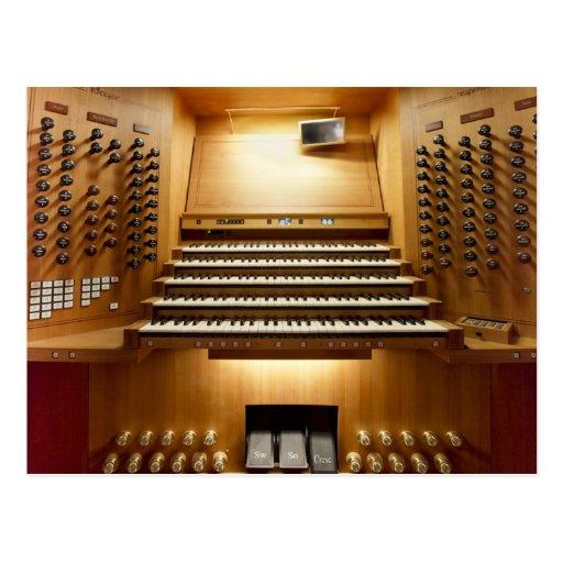 Rieger organ, Shanghai Postcard