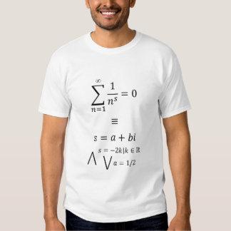 Riemann Zeta Function T-Shirt