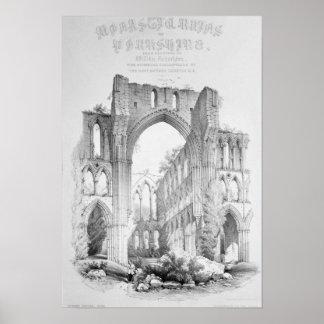 Rievaulx Abbey Poster