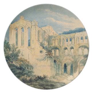 Rievaulx Abbey, Yorkshire, 1798 (w/c) Plate
