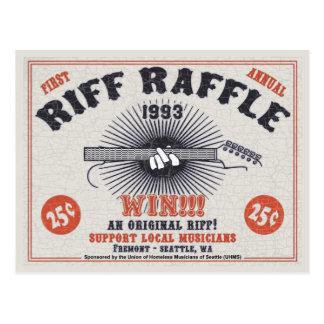 Riff Raffle Postcards