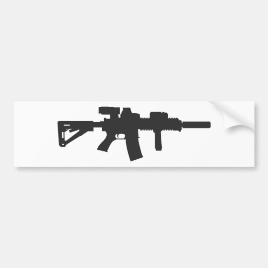 Rifle Carbine Bumper Sticker