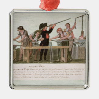 Rifle Makers' Workshop, 1793 Christmas Ornament