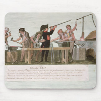 Rifle Makers' Workshop, 1793 Mouse Mat