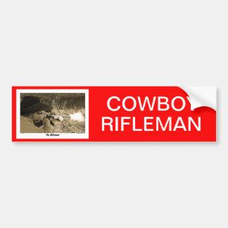 RIFLEMAN CAR BUMPER STICKER