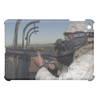 Rifleman keeps alert case for the iPad mini