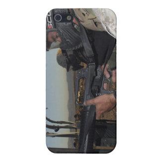 Rifleman keeps alert iPhone 5 cover