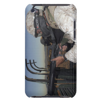 Rifleman keeps alert iPod Case-Mate case