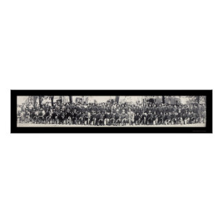 Riflemen WWI Photo 1917 Poster