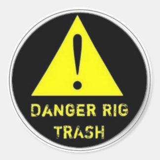 Rig Trash sticker