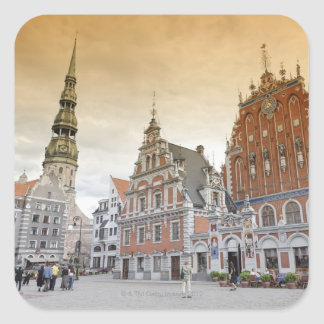 Riga, Latvia Square Sticker