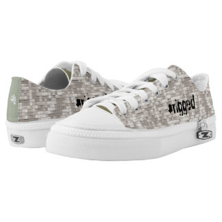 #rigged System Digital Camo Military Trump USA Printed Shoes