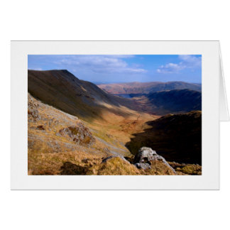 Riggindale from High Street - The Lake District Card