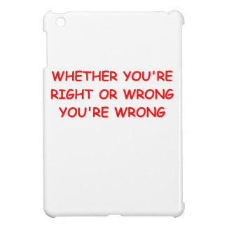 right and wrong case for the iPad mini