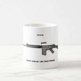 Right arm basic white mug