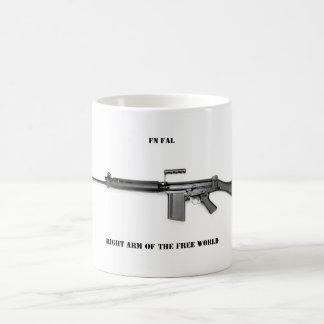 Right arm basic white mug