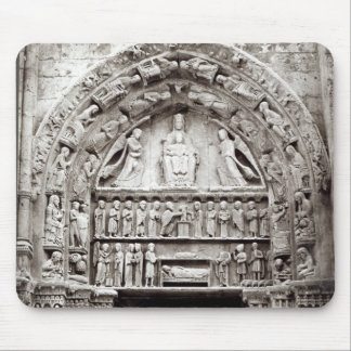 Right bay of the Royal Portal, mid-12th century Mouse Mat