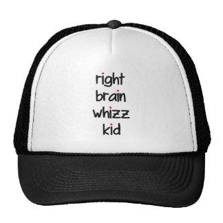 right brain whizz kid hat