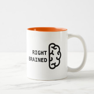 Right Brained Coffee Mug