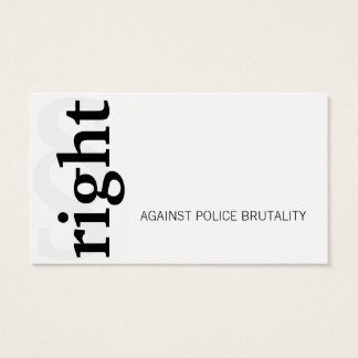 Right! Business Card