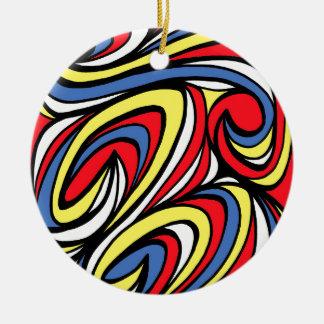 Right Fortunate Innovative Amazing Round Ceramic Decoration