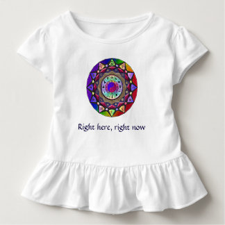 Right here, right now Mandala Dress or T-Shirt