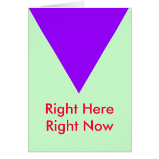 Right Here Right Now The MUSEUM Zazzle Gifts Greeting Card