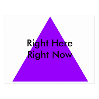 Right Here Right Now The MUSEUM Zazzle Gifts Postcard