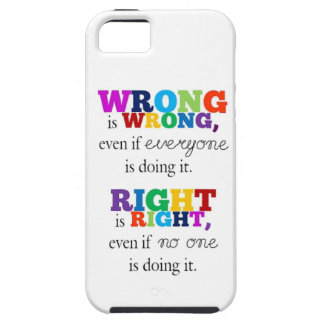 Right & Made a mistake iPhone 5 Cases