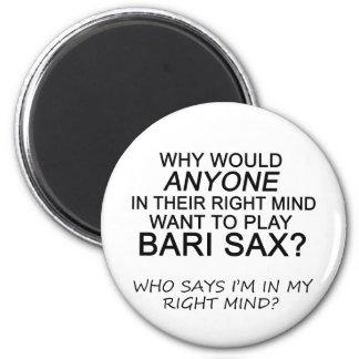 Right Mind Bari Sax Magnets
