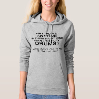 Right Mind Drums Hoodie