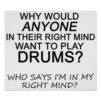Right Mind Drums Poster